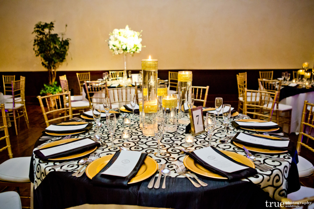 Centerpieces The Prado Wedding San Diego