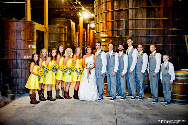 Bernardo Winery Wedding:  Farin and Blake