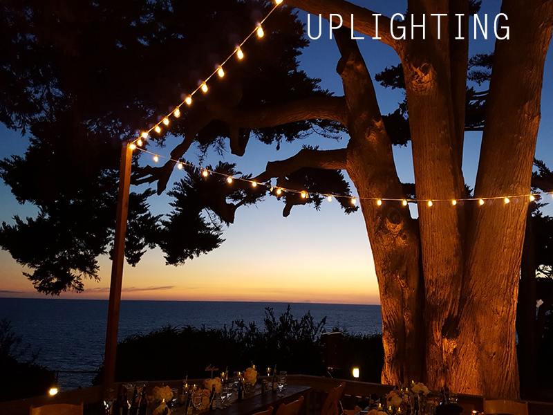 Uplighting in San Diego